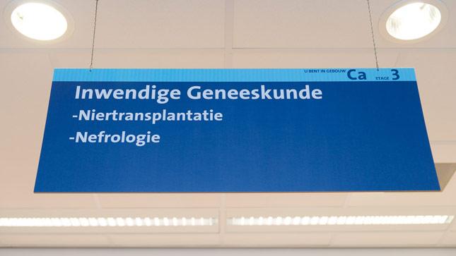 Ziekenhuis_bord nefrologie